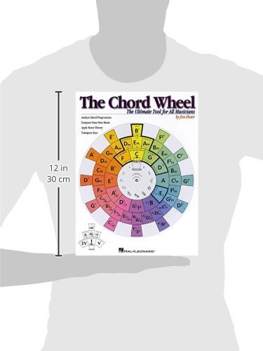 The Chord Wheel Chart Guitar Jar Magazine Shop