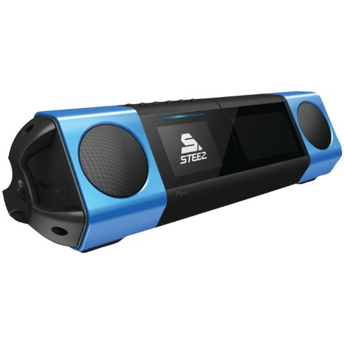 Pioneer Solo Steez Portable Music System (Blue/Black)