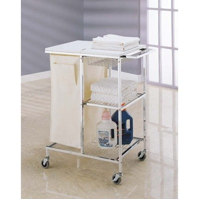 Organize It All Chrome Laundry Station 63101: