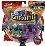 Gormiti Series 1 Two Pack - Solitary Eagle & Crabs the Avenger