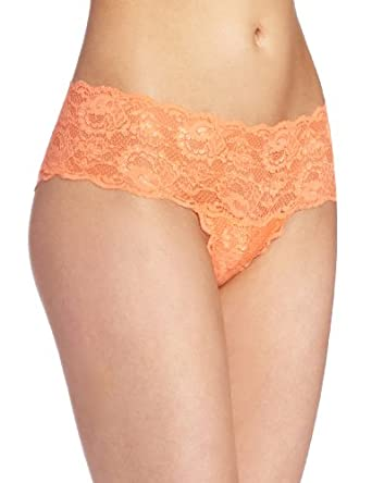 Cosabella Women's Never Say Never Hottie Hotpant Panty, Persimmon, Small/Medium