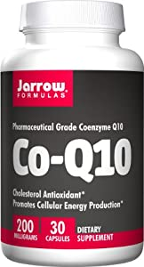 Jarrow Formulas Co Enzyme Q10, 30 Caps, 200 Mg from Jarrow Formulas