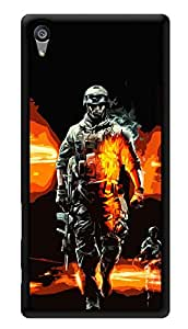 """Humor Gang Games Craze Printed Designer Mobile Back Cover For """"Sony Xperia Z5"""" (3D, Glossy, Premium Quality Snap On Case)"""