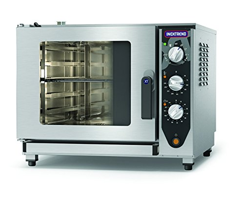 Inoxtrend, Stainless Steel exterior, Simple combination range, Combination Ovens, No of Level 5, Size (HxWxD) 600 x 710 x 770 (mm)