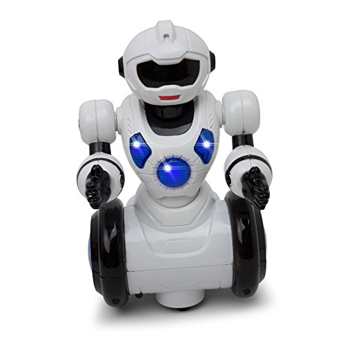 Dancing Mini Robot Bump and Go - Kids Action - 360 Degree Spin - Colorful Lights and Music (Animal Robot For Kids compare prices)