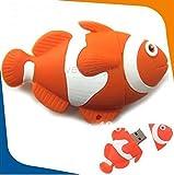 Microware 16GB Fish ShMicroware Nemo Designer Pen Drive