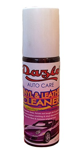Dazlo® Vinyl & Leather Cleaner – 400mL (2x200mL) – Universal Cleaner – Dashboard, Leatherette, Vinyl, Plastic Cleaner