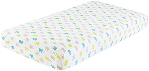 aden + anais (aden) Cotton Muslin Crib Sheet- Ellie Star