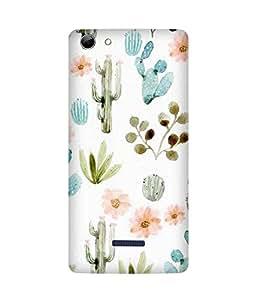 Cactus Love Micromax Canvas Selfie 3 Q348 Case