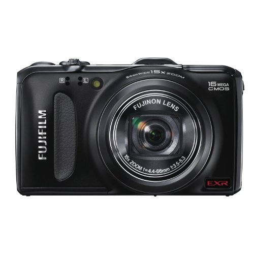 Fujifilm FinePix F600EXR - 16178897 - 16 MP Digital Camera with CMOS Sensor and 15x Optical Zoom (Black)