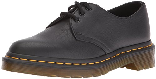 Dr. Martens 1461 Virginia Scarpe brogue stringate, Donna, Nero, 37