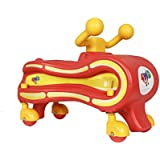 Toyztrend My First Ride-On 4 Wheel Drive With 360 Degrees Spins For Kids Between 12 To 30 Months (Red)