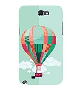 GADGET LOOKS PRINTED BACK COVER FOR SAMSUNG GALAXY NOTE 2 MULTICOLOR