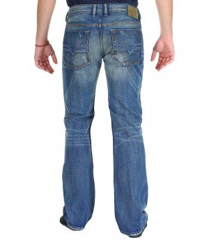 Brand New Diesel Zatiny 74F Mens Jeans, 0074F, DNA Dirty New Age Collection, Regular Fit Bootcut (27 x 32)