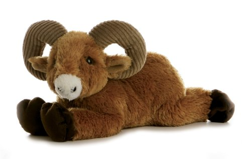 "Aurora Plush Big Horn Flopsie - 12"" - 1"