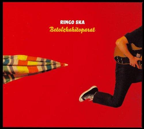 Original album cover of Betolzkahitoparat by RINGO SKA