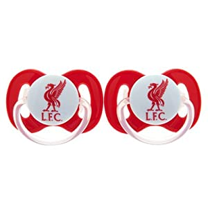 Official Liverpool FC Baby Soother - A great gift / present for babies, toddlers for Christmas, Birthdays, Christenings or just as a treat for and avid football fan by ONTRAD Limited