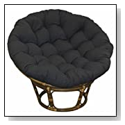 Large Papasan Patio Chair with Cushion