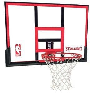 Buy Spalding 79354 Backboard Rim Combo with 48-Inch PolyCarbonate Backboard by Spalding
