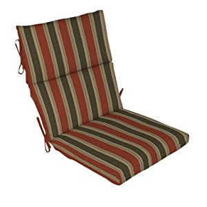 Arden Patio Furniture, Twilight Palm Midback Chair Cushion (Pack