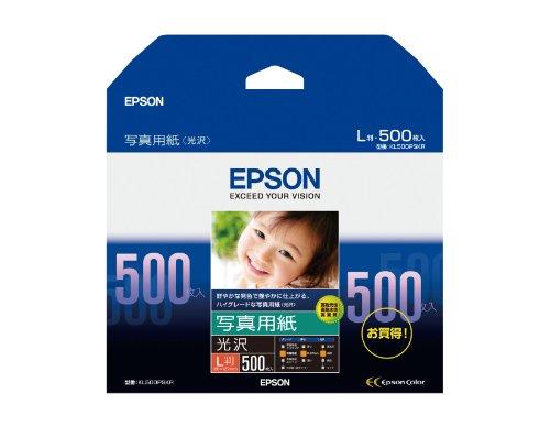 EPSON photo paper glossy L size 500-KL500PSKR