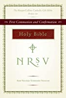NRSV HarperCollins Catholic Gift Bible (burgundy)