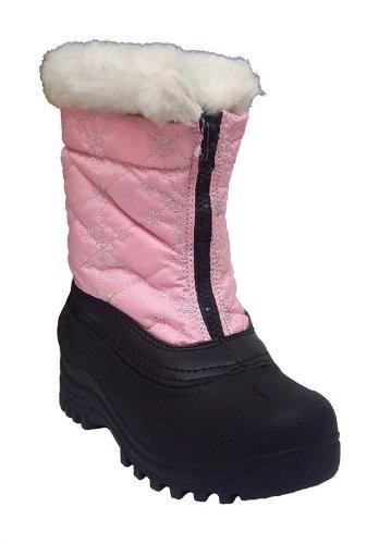 Itasca Snowstomper Girls 806080 Pink Snowflake M 020