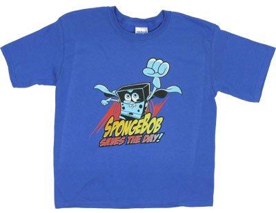 Spongebob Saves The Day! - Spongebob Squarepants Toddler T-Shirt: Toddler 4T - Royal Blue
