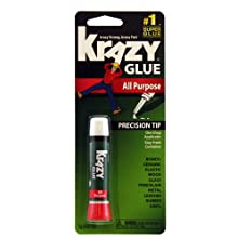Krazy Glue KG585 Instant Krazy Glue All Purpose Tube 0.07-Ounce