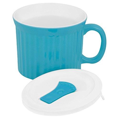 Corningware Colours Pop-Ins Pool 20-oz Mug w/ Lid
