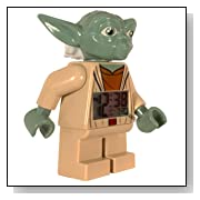 Star Wars Yoda Minifigure Clock