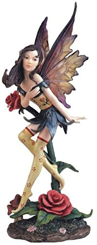 StealStreet Fairy Collection Pixie with Clear Wings Fantasy Figurine Decoration