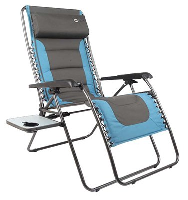 Xl zero gravity chair chairs patio and furniture for Table mosaic xl 6 chaises encastrables