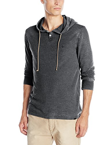 volcom-mens-murphy-hooded-thermal-shirt-black-small