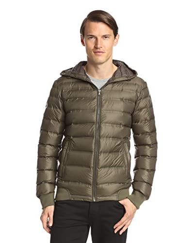 7 for All Mankind Men's Heat Sealed Quilted Packable Jacket