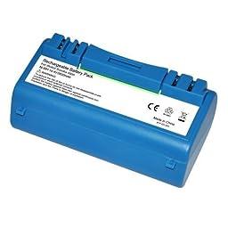 Battery for iRobot Scooba 5900 Series Floor Cleaner 14.4V 3.5Ah by Dantona