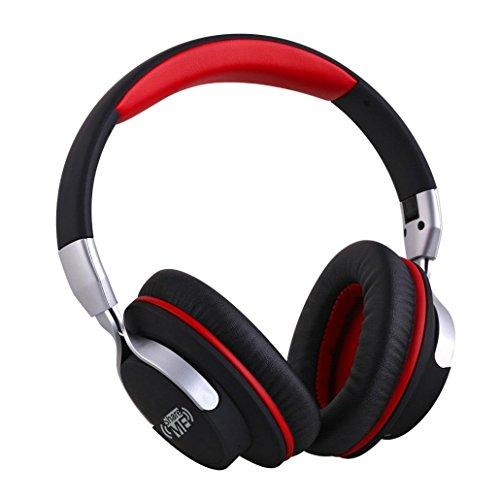 shareme Fashion coppie di musica stereo auricolari, c' est gioco pieghevole cuffie Bluetooth On-Ear Cuffie con microfono integrato Bluetooth 4.0vivavoce chiamata cancellazione del rumore Audio in per Custodia per Laptop PC