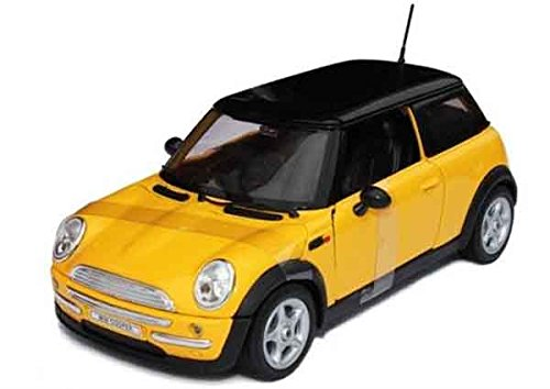 Tourwin Toy car 1:24 BMW MINI Cooper S Countryman simulation black car model collection decoration alloy children's toys 6 doors can open
