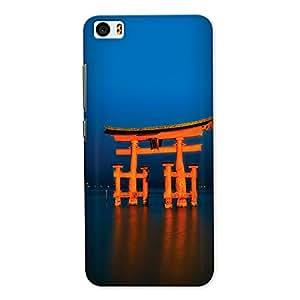 CrazyInk Premium 3D Back Cover for XIAOMI MI5 - Itsukushima Shrine