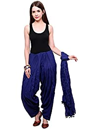Mango People Products Full Cotton Patiala Salwar With Dupatta (Special ROYAL BLUE)