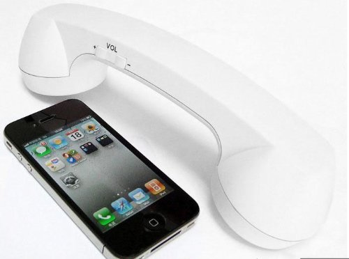 Special Holiday Price 3.5Mm Retro Cell Phone Handset Receiver For Iphone5, Xmas Gifts - Gift For Father'S Day
