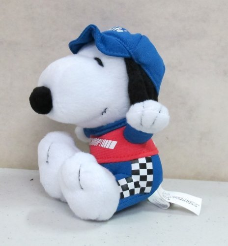 "6"" Met Life Peanuts Snoopy Driver Plush Doll"