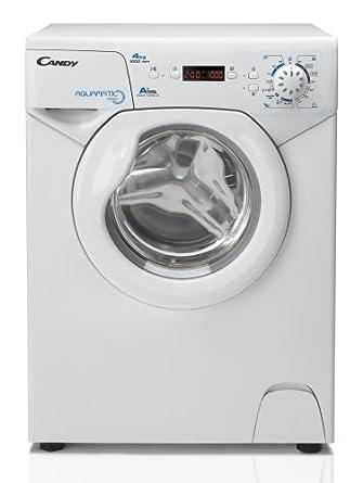 Candy AQUA 1042D1-S Autonome 4kg 1000tr/min A+ Blanc Front-load machine à laver - machines à laver (Autonome, A+, C, Blanc, Front-load, Droite)