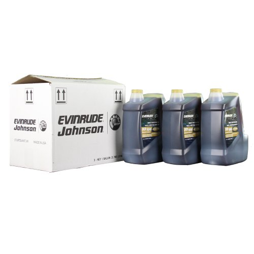Evinrude ETEC XD-100 2-Cycle Oil Gallon Case (3 pack)