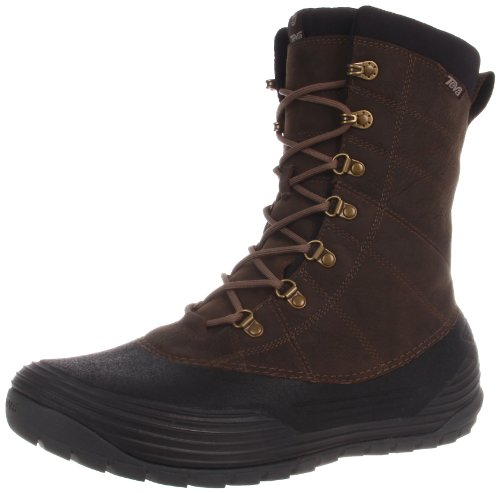Teva Bormio Snow Boots Mens Brown Braun (brown 556) Size: 6.5 (40.5 EU)