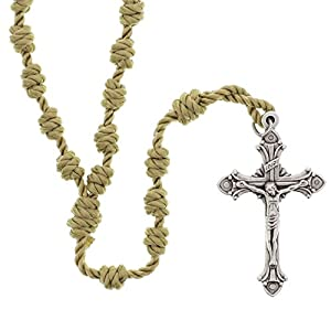 Gold Knotted Traditional Rosary