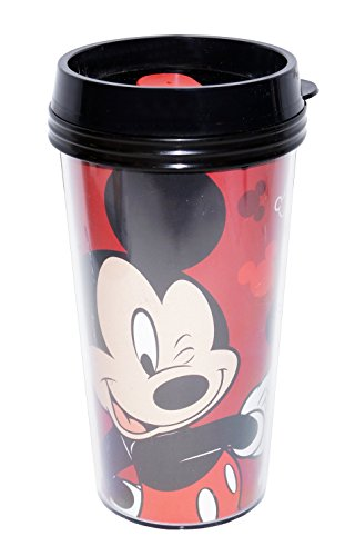 Disney Mickey Mouse 16oz Double Walled Travel Tumbler (Disney Coffee Travel Cup compare prices)
