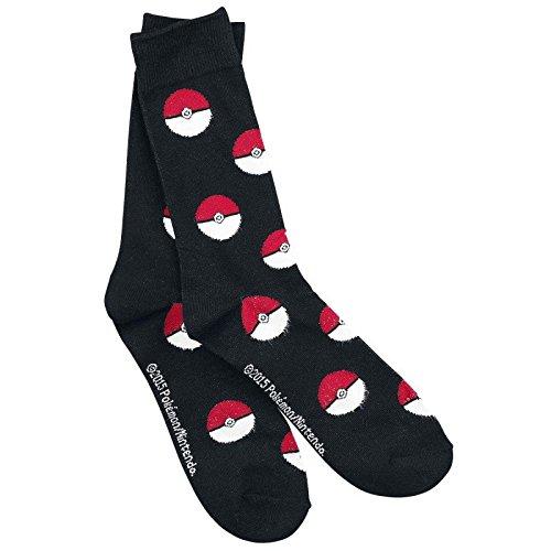 Ufficiale Pokemon Poke Ball tutto stampa Crew Socks - dimensioni