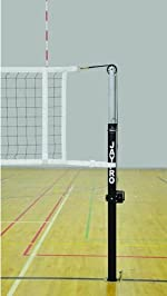 Jaypro PVB-4500 Featherlite Collegiate Volleyball Net System for 3 inch (Complete System) (Call 1-800-234-2775 to order)