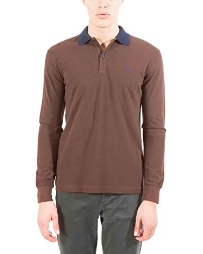 Fred Perry Polo [Marrone]